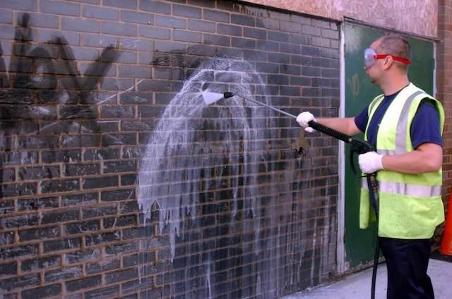 graffiti removal in davie
