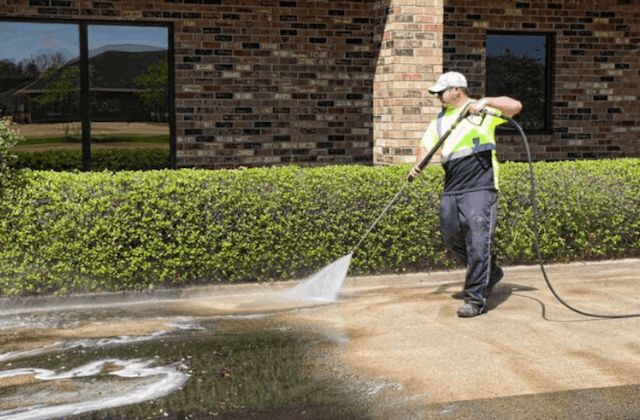 commercial concrete cleaning in davie